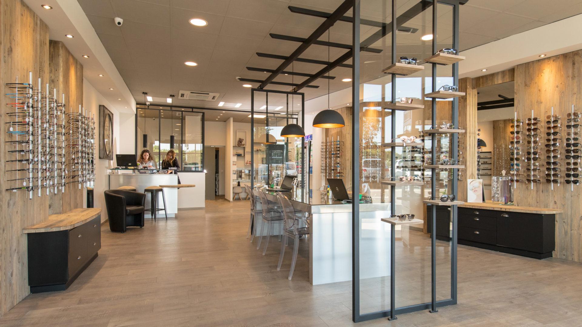 Boutique Mouans Optique opticien dans les Alpes Maritimes