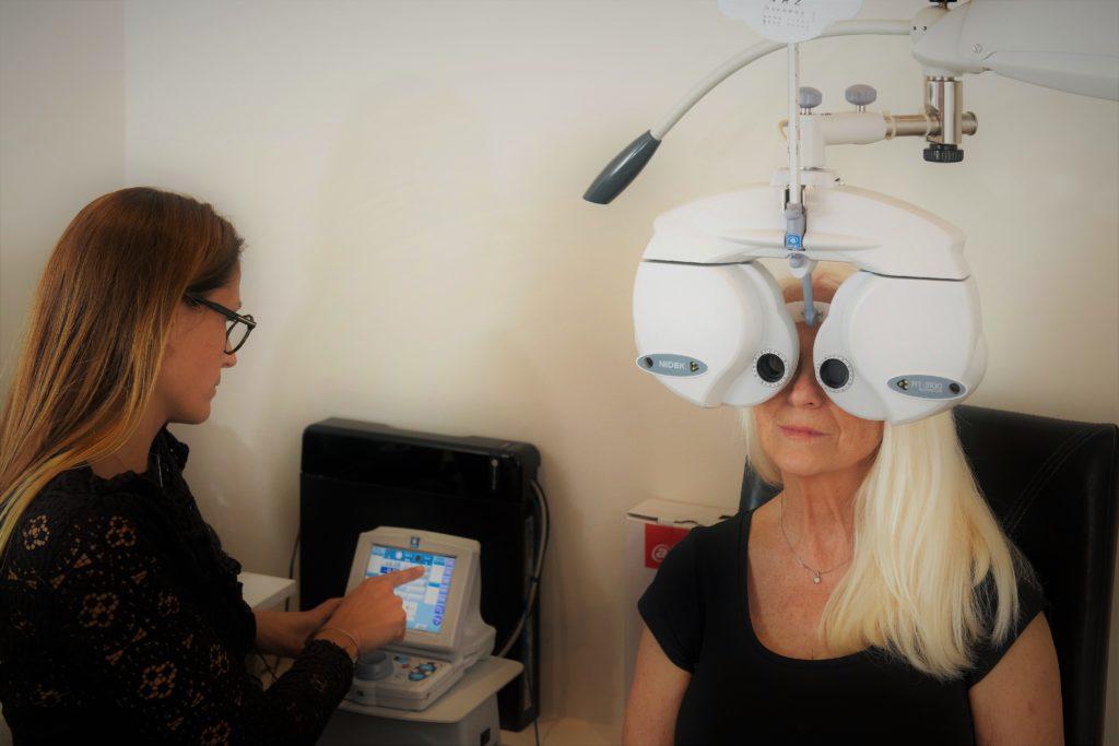 Controle de la vue Mouans Optique