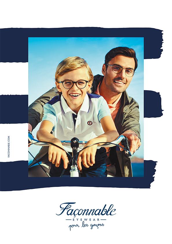 Collection lunettes Façonnable pour Hommes et petits garçons chez Mouans Optique votre opticien à Mouans Sartoux